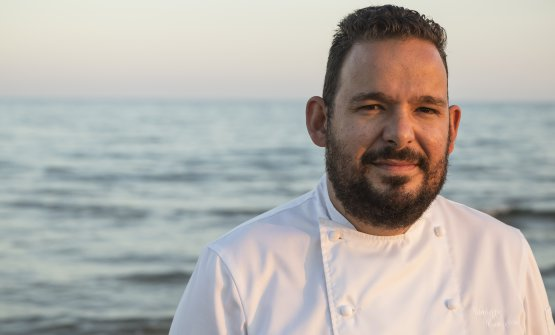 Giuseppe Causarano, chef del Votavota (foto di Marcello Bocchieri)