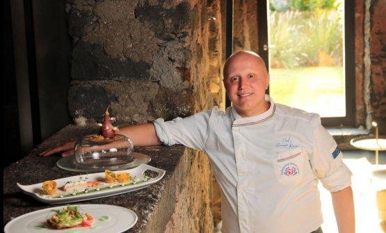 Giuseppe Raciti, chef dello Zash diRiposto (Catania)