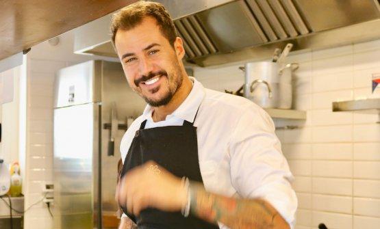 Joseph Micieli, 30 anni, chef diScjabica Cuoco P