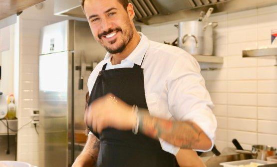 Lo chef e patron Joseph Micieli