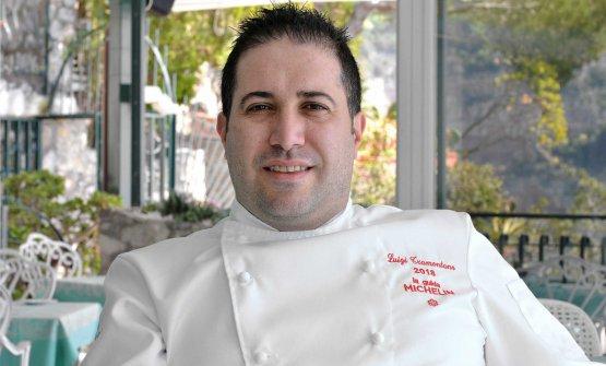 Lo chef Luigi Tramontano