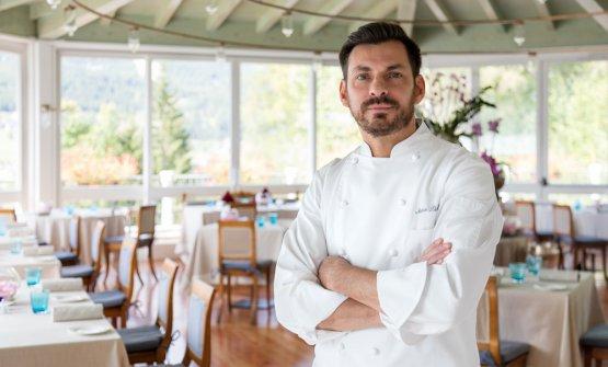 Lo chef Marco Pinelli