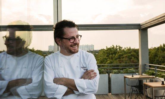 Stefani Cerveni, chef e imprenditore, in uno scatt