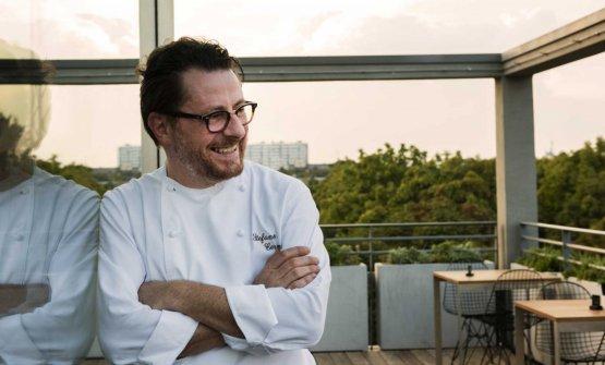 Lo chef Stefano Cerveni