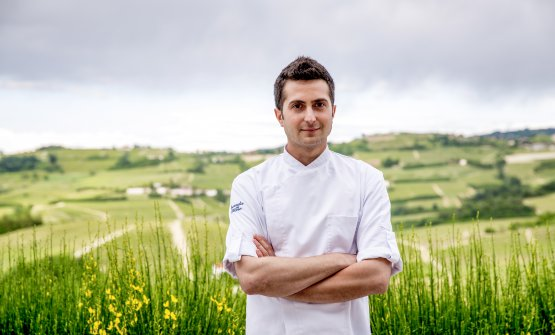 Federico Gallo, chef della Locanda del Pilone