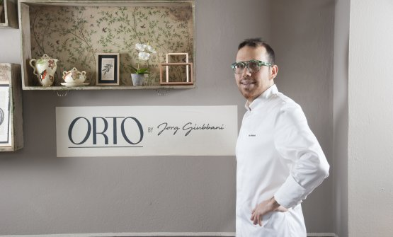 Il giovane chef Jorg Giubbani firma l'offerta