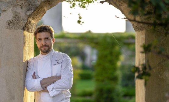 Tommaso Sanguedolce è lo chef de Il Tempo Nuovo,�