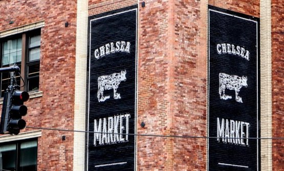 Chelsea Market in New York. All the photos are fr