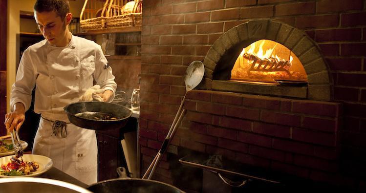 Il forno a legna di Chez Panisse