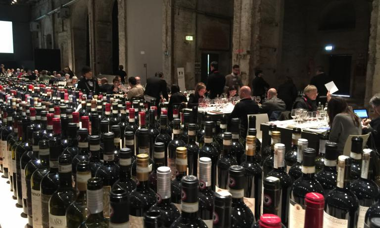 Era possibile assaggiare oltre 600 vini delle ultime annate in commercio