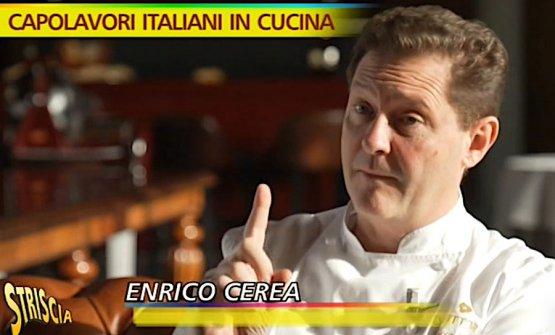 Chicco Cerea a Striscia la notizia nella puntata trasmessa martedì 14 gennaio 2020