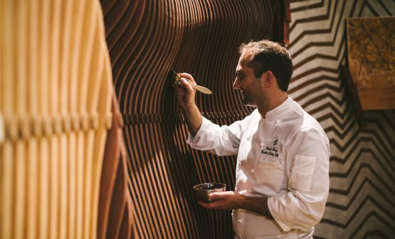 Daniele Bonzi, pastry chef del Four Seasons a Milano