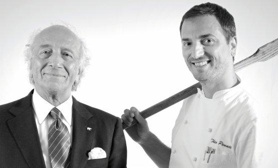 Pierino e Theo Penati, padre e figlio