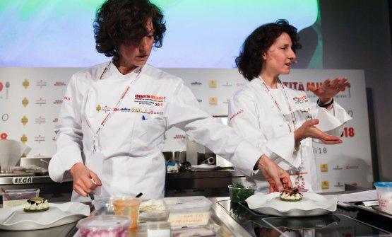 Le gemelle Daniela e Manuela Cicioni
