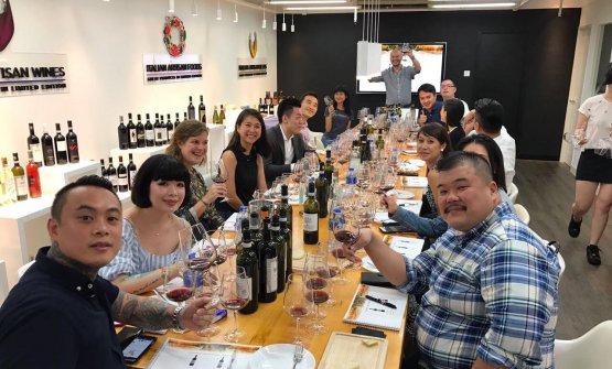 I progetti di Zixun vogliono avvicinare i cinesi al vino italiano