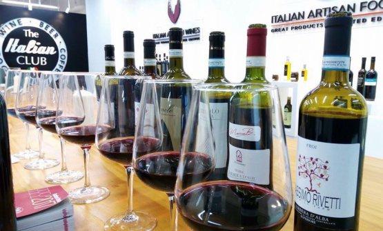 La degustazione dedicata ai vini piemontesi