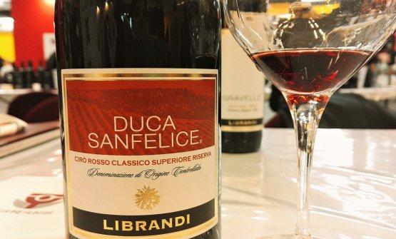 Duca di San Felice Cirò Rosso Classico Superiore Riserva 2014, sempre diLibrandi