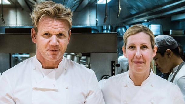 Clare Smyth con Gordon Ramsay: dopo tanti anni di