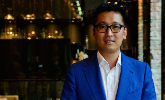 Claudio Liu, 37 anni, pronto a inaugurare il suo s