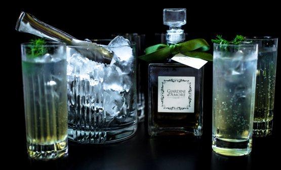 Il cocktail Suzy Parker a base dei liquori Giardin