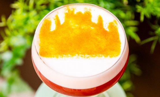 Uno dei cocktail speciali - forse il più rapprese