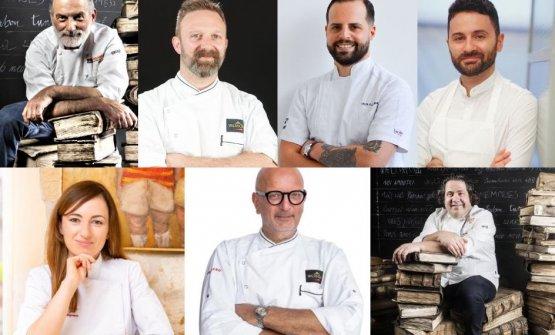 I sette relatori diPasticceria italiana contempo