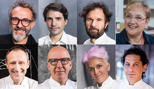 The chefs protagonists of Identità New York 2018
