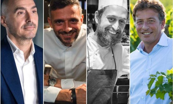 Da sinistra, quattro nuovi protagonisti di Identit