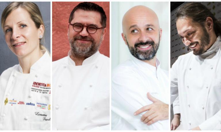 Quattro volti noti della grande ristorazione italiana (gli chef LorettaFanella, Angelo Sabatelli, Niko Romito più il sous più famoso del paese, Giuseppe Rambaldi) insieme perché accomunati dai lavori in corso che li vedono protagonisti di cambiamenti importanti in questo inizio di 2017