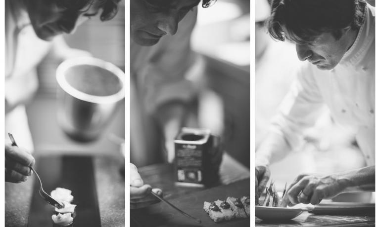 Giuliano Baldessari ha da pochi giorni un nuovo menu, si chiama Iniziazione, spinge forte sul fronte della creatività. Identità Golose lo ha provato e ne è rimasta entusiasta