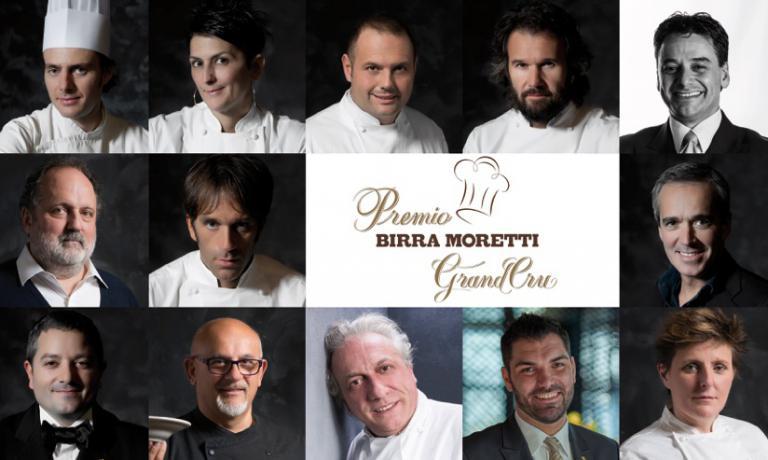 La giuria dell'ultimo Premio Birra Moretti Grand Cru