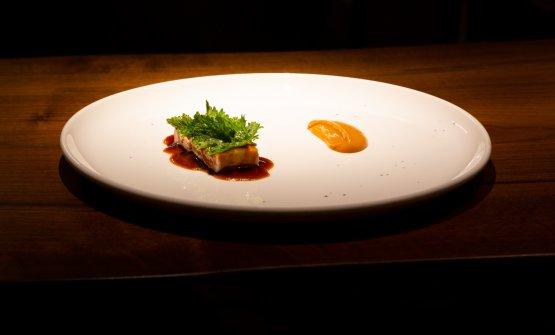 Collo, fagioli e senape: un piatto in cui Antonio