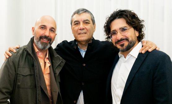 Andrea Ribaldone, Claudio Ceroni, Salvatore Iandolino