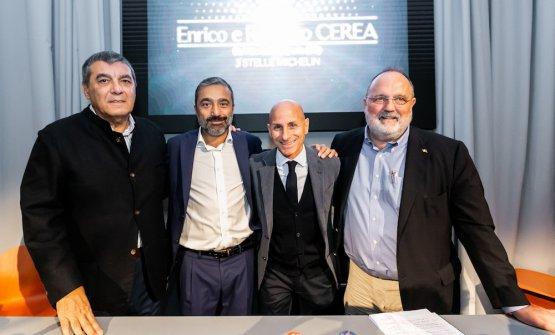 Claudio Ceroni, Andrea Amato, Claudio Scavizzi, Paolo Marchi