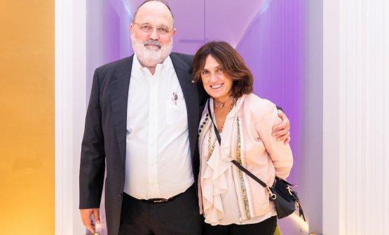Paolo Marchi e Luisa Acciarri