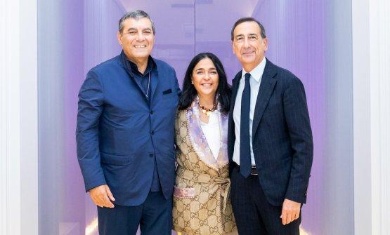 Claudio Ceroni, Paola Jovinelli, Beppe Sala