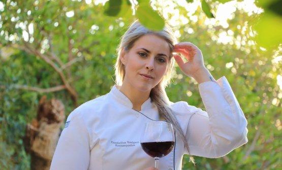 Constadina Voulgari Kontesopoulou,chef del risto