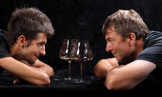 Gabriele e Roberto Conterno, figlio e padre, dal 2