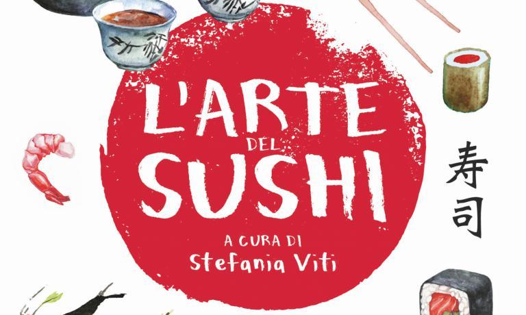 La copertina di L'arte del sushi (Gribaudo)
