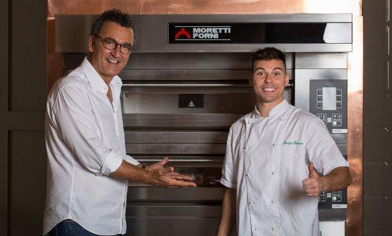 Jacopo Mercuro, a destra, e David Ranucci: sono gl