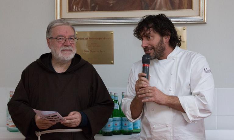 Padre Maurizio e Cesare Battisti danno il via alle danze