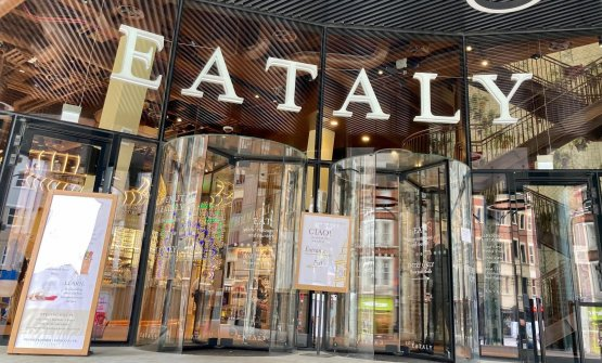 L'ingresso di Eataly London, inaugurato ad apr