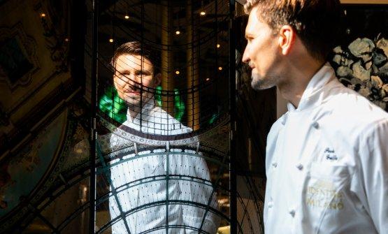 Paolo Griffa, 29 anni, chef del ristorante Petit R