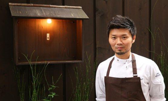 Lo chef-patronZaiyu Hasegawa