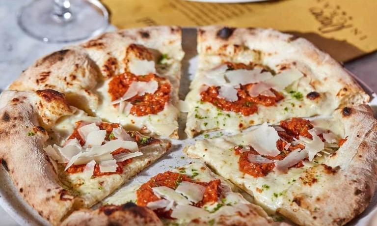 La pizza Scarpetta