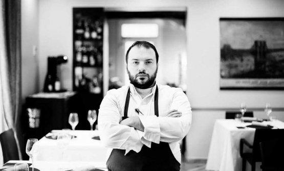 Lo chef Alberto Buratti