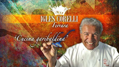 Igle Corelli, now a chef at Atman restaurant in Villa Rospigliosi, Lamporecchio (Pistoia), tel. +39.0573.1603051