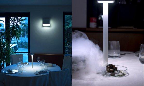 Il progetto di Davide Groppi per il ristorante di Christian e Manuel Costardi a Vercelli (2015)