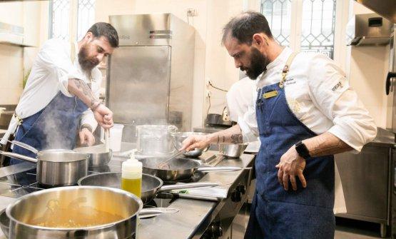 Nella cucina di Identità Golose Milano