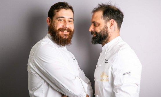 Da sinistra, Manuel e Christian Costardi. I due fr